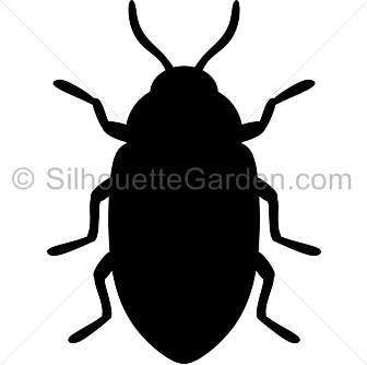 Beatle clipart silhouette Beetle Silhouette Silhouette