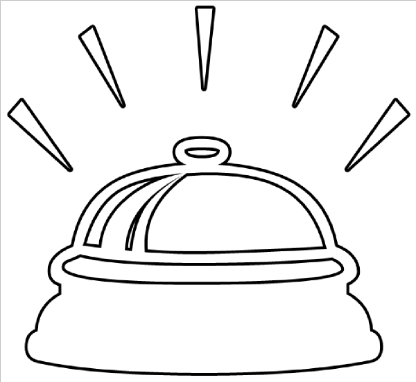 Bell clipart bell ringing As: clip Bell image