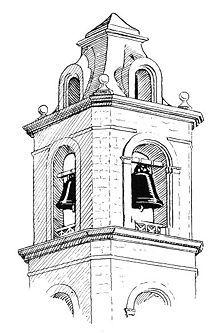Tower clipart school bell #6