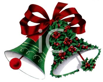 Holley clipart christmas bell Holly Picture of Clipart bells