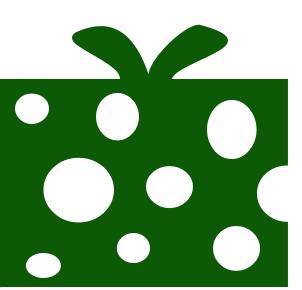 Gift clipart green present #8