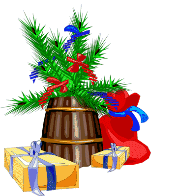 Bell clipart christmas gift Clipart Christmas  art clip