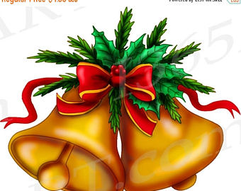 Holydays clipart jingle bells Clipart OFF Etsy Bell jingle