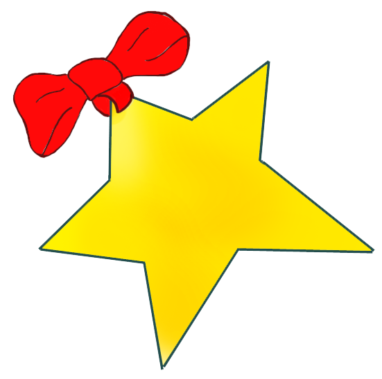 Microsoft clipart santa With Christmas Clip star red