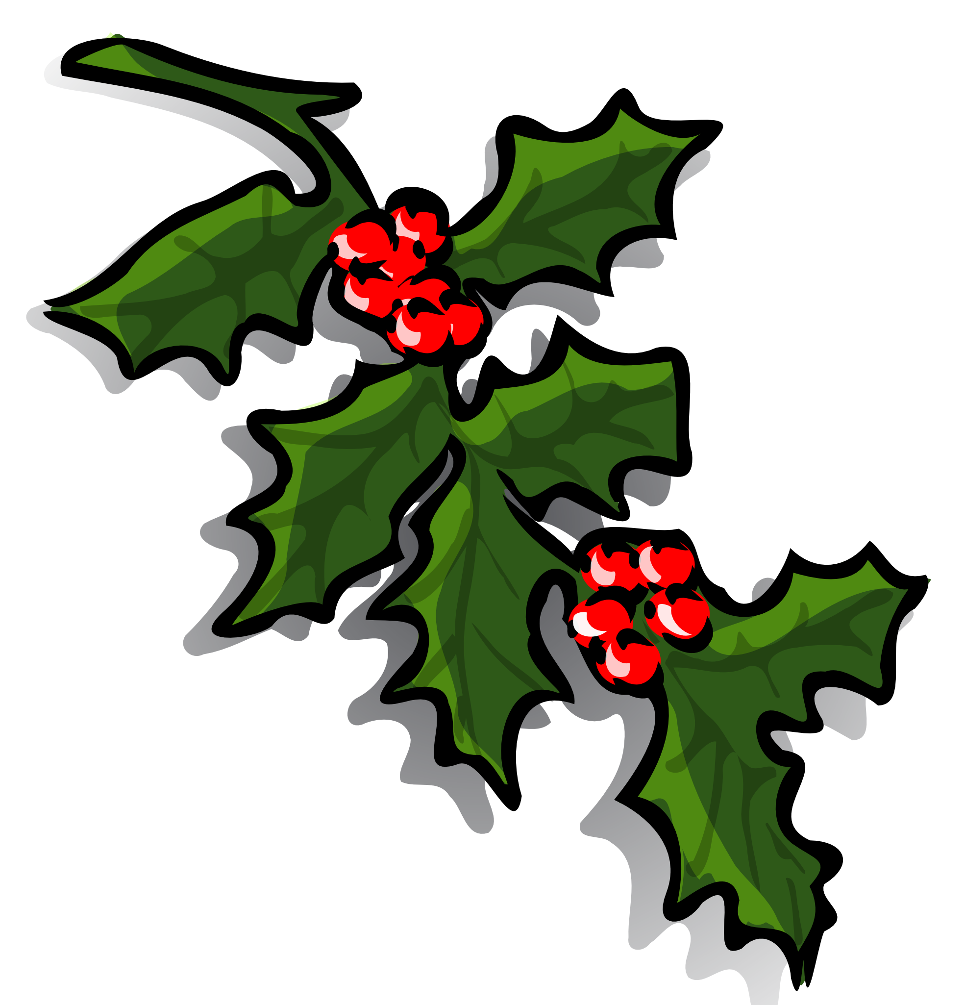 Holley clipart winter Cliparting for christmas bells and