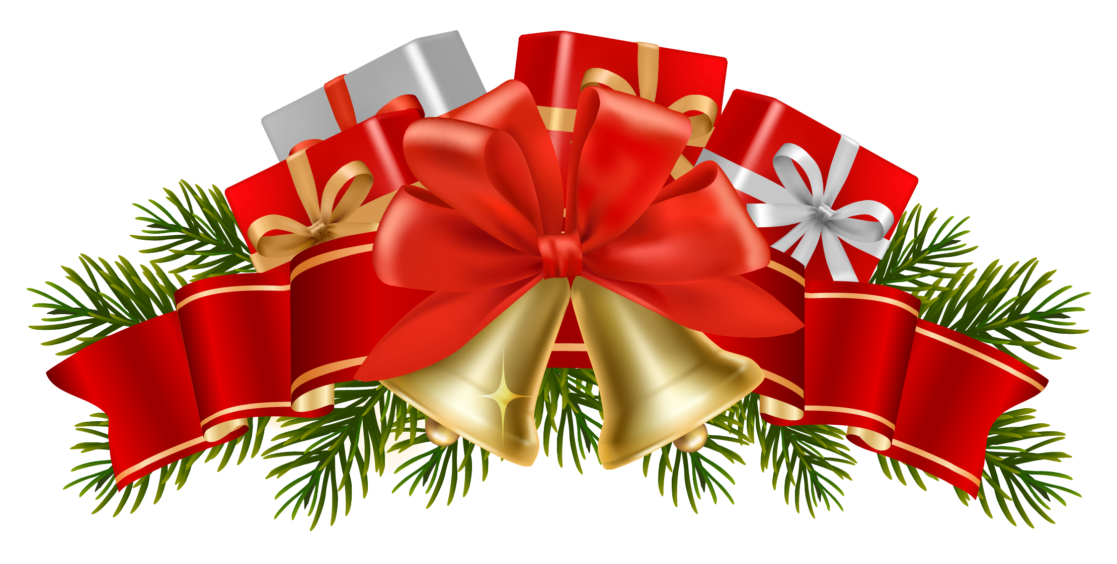Bell clipart christmas tree decoration PNG Christmas PNG decoration images