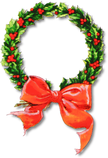 Wreath clipart graphic Bell Clipart Free Christmas Public