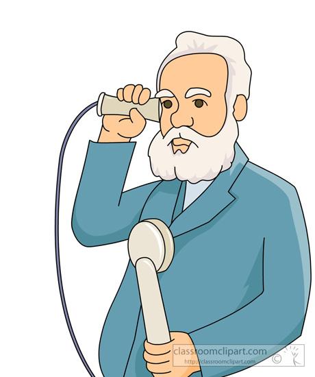 Telephone clipart first telephone Graham using graham bell telephone