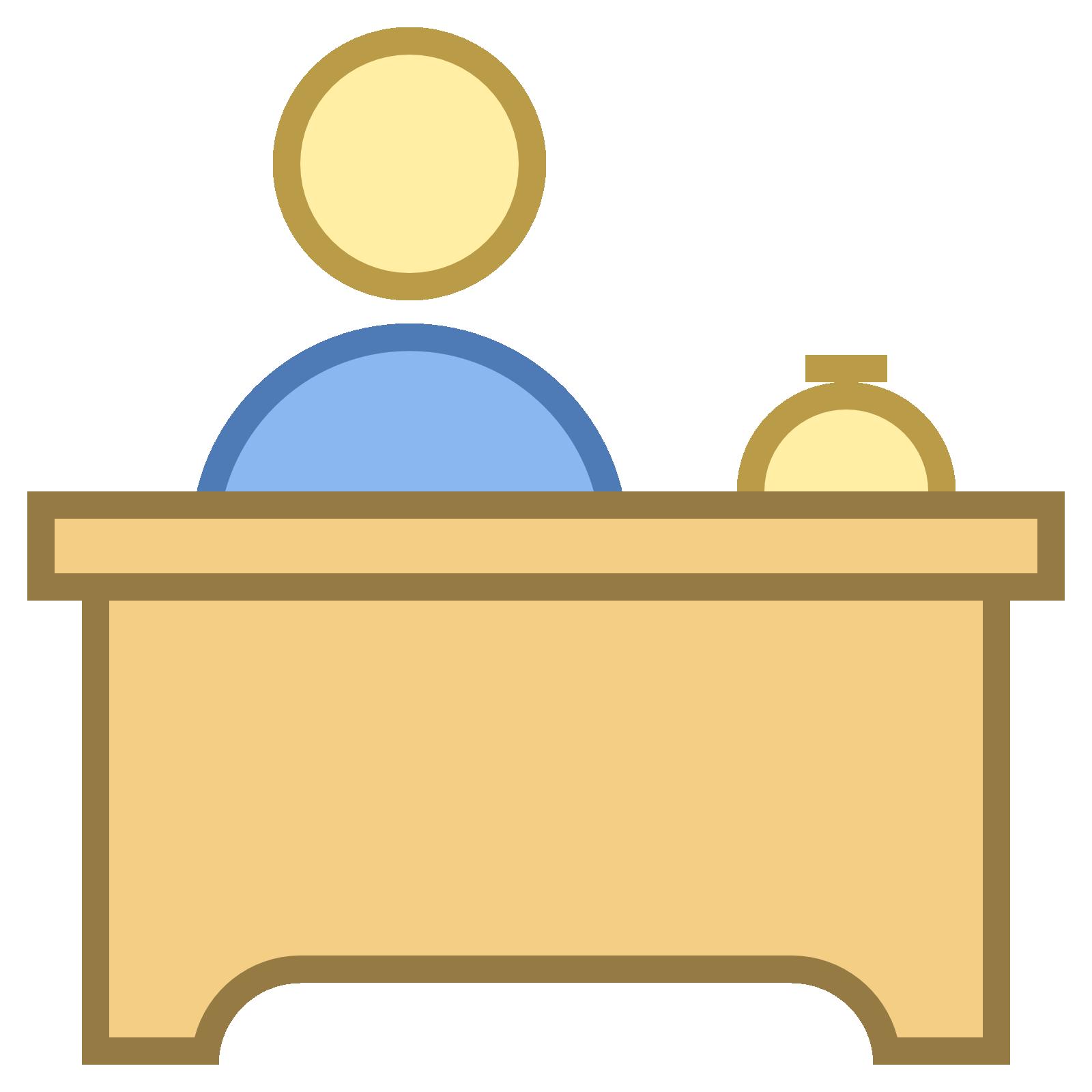 Desk clipart college professor Desk Desk at Icon icon