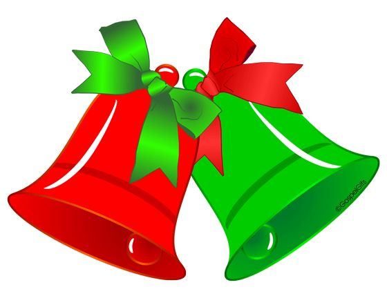 Holydays clipart ribbon Green Christmas Clip Red on