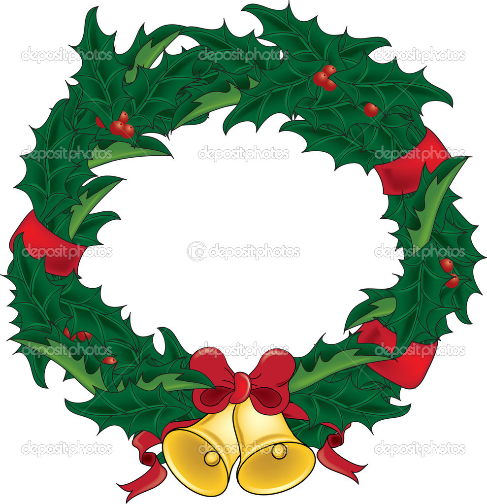 Wreath clipart reef Clipart%20christmas%20holly Panda Clipart Free Christmas