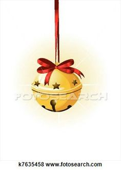 Necklace clipart jingle bell Art Royalty Christmas Bells Clip