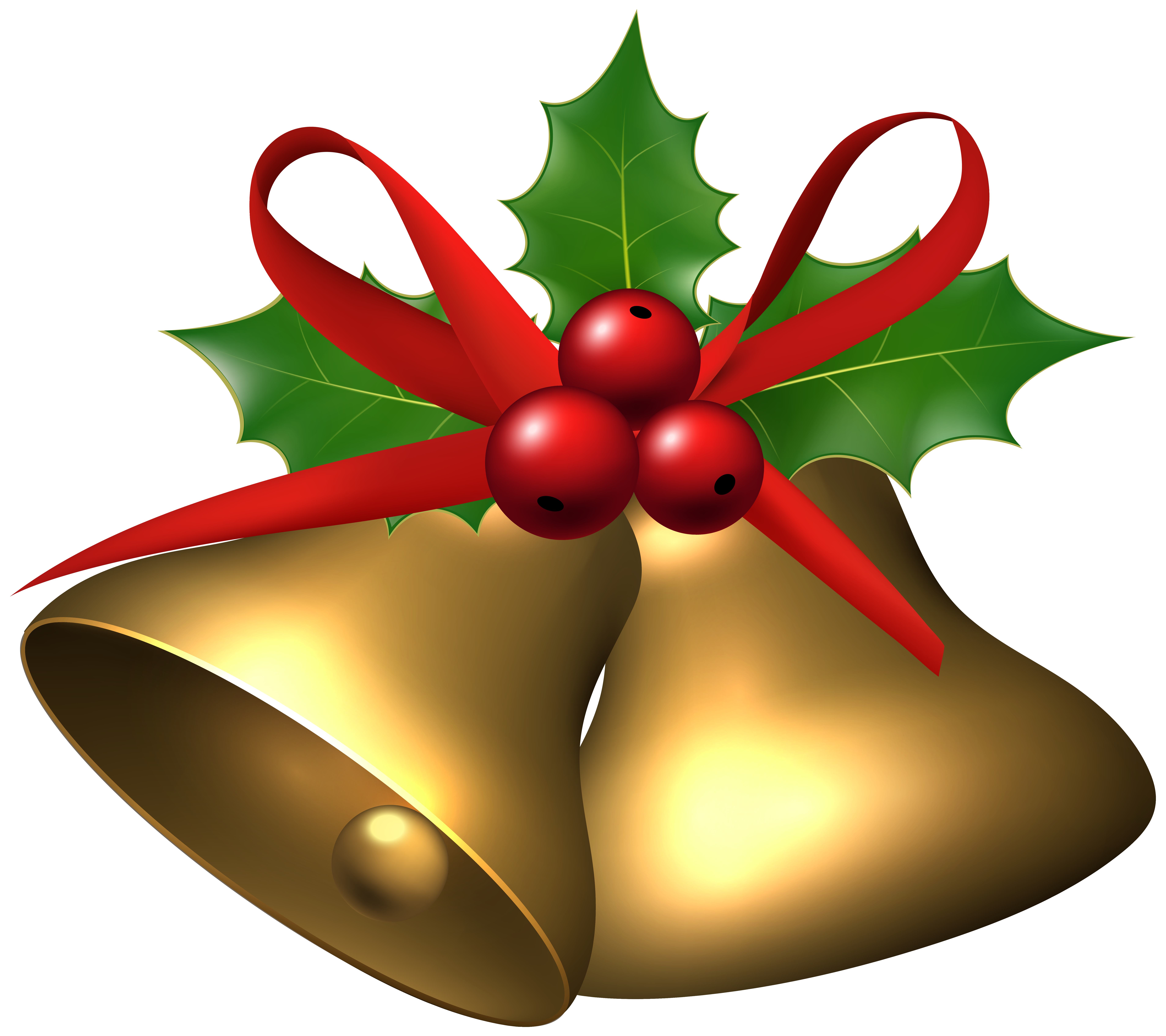 Bell clipart transparent background With size Large View Christmas