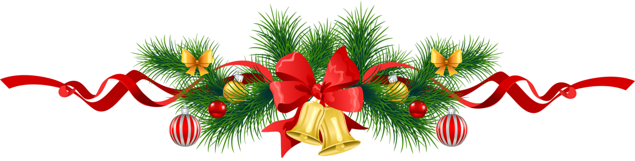 Bell clipart transparent background Garland size Transparent View Christmas
