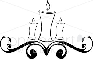 Candle clipart carol by candlelight Candles Wedding Candles Wedding Clipart
