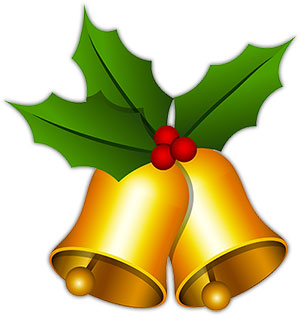 Holley clipart christmas bell Graphics Christmas bells Christmas Christmas