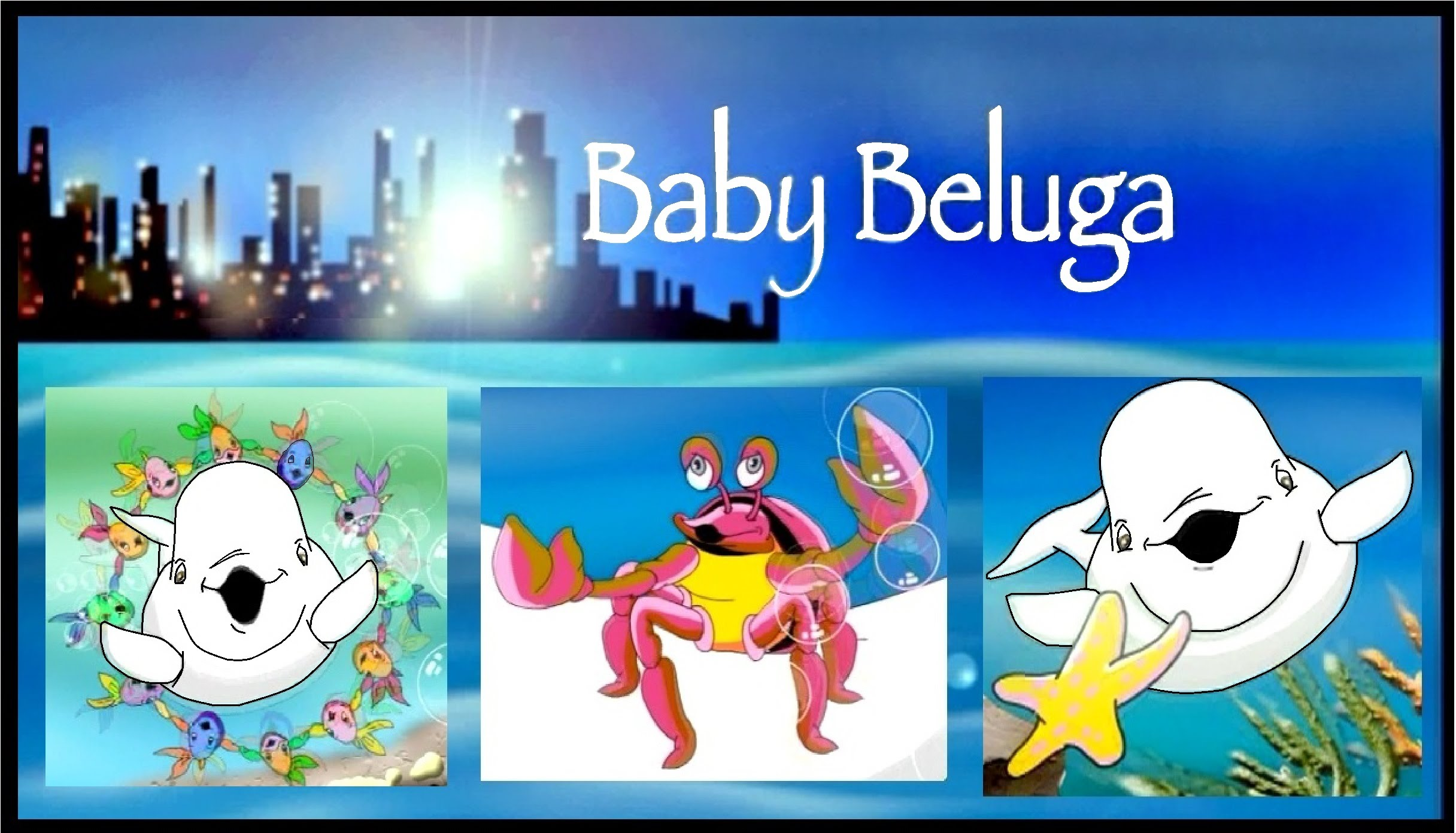 Beluga clipart happy  and song KIDiddles Baby