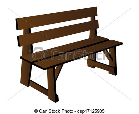 Bench clipart Clip royalty free 11 049
