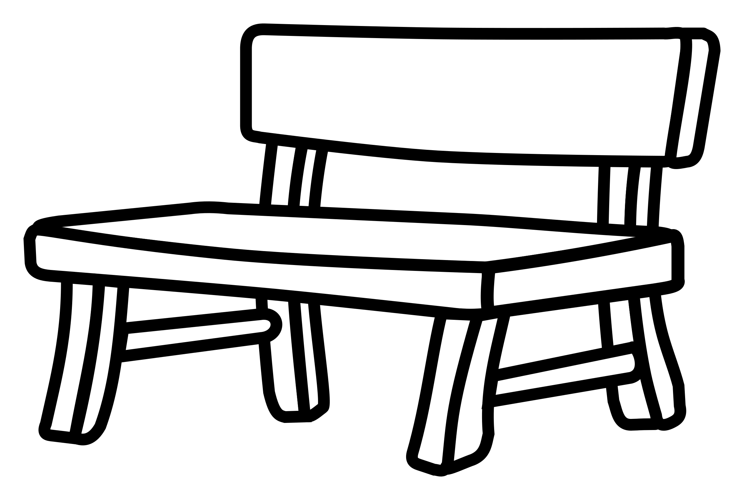 Park Bence clipart school bench #3