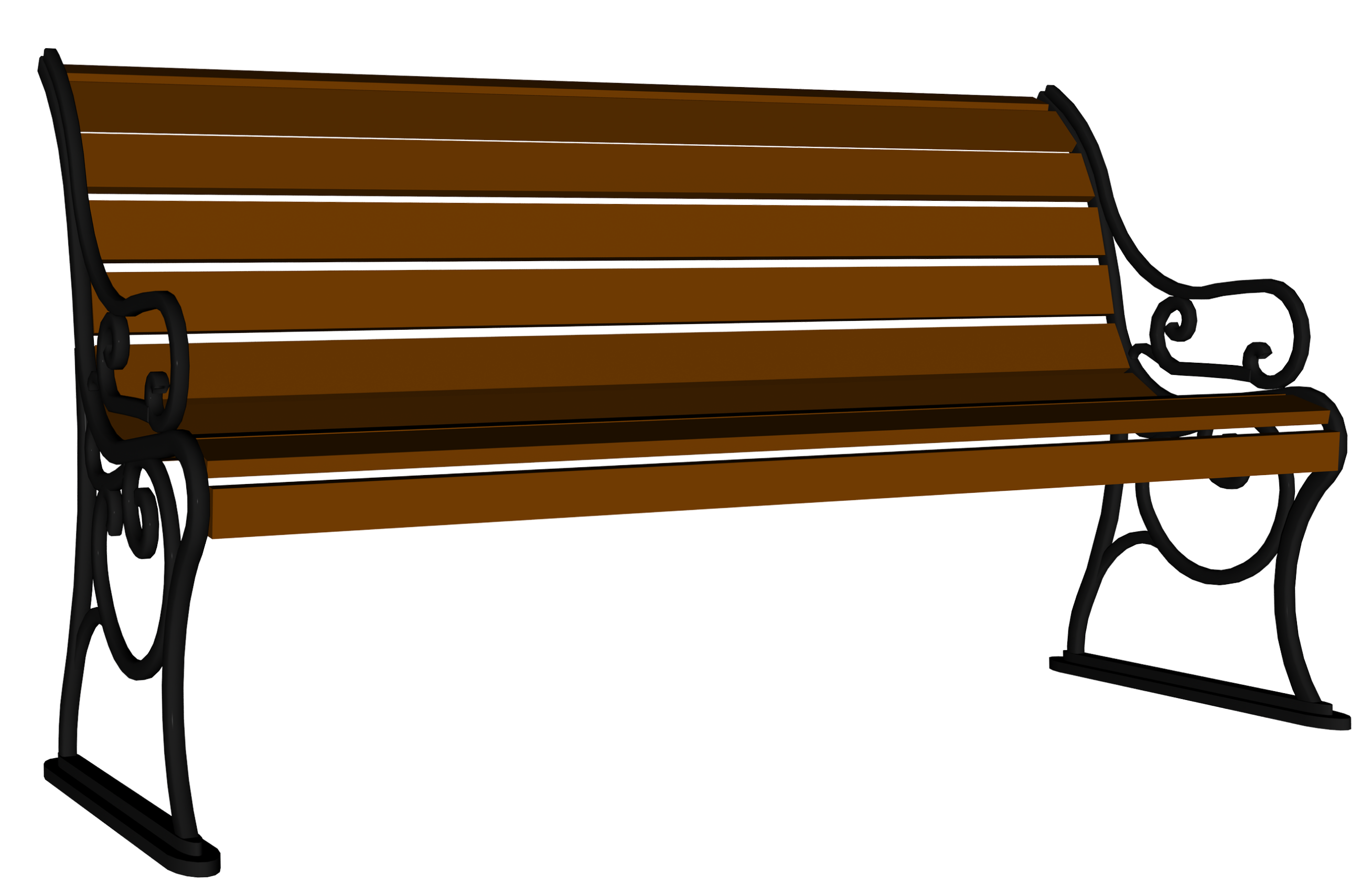 Bench clipart Clipart (66+) Gallery Image PNG