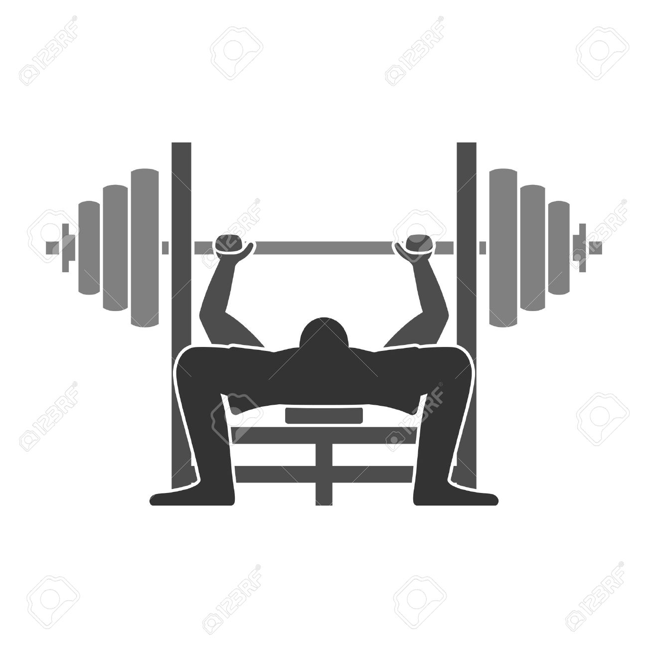 Bench clipart animated Clipart Press Bench  Bar