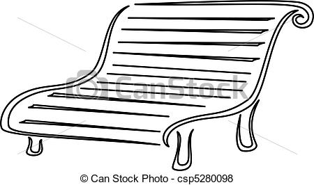 Bench clipart black and white Found And White you Clipart