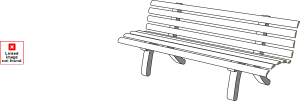 Bench clipart black and white Gallery Park For And Clipart