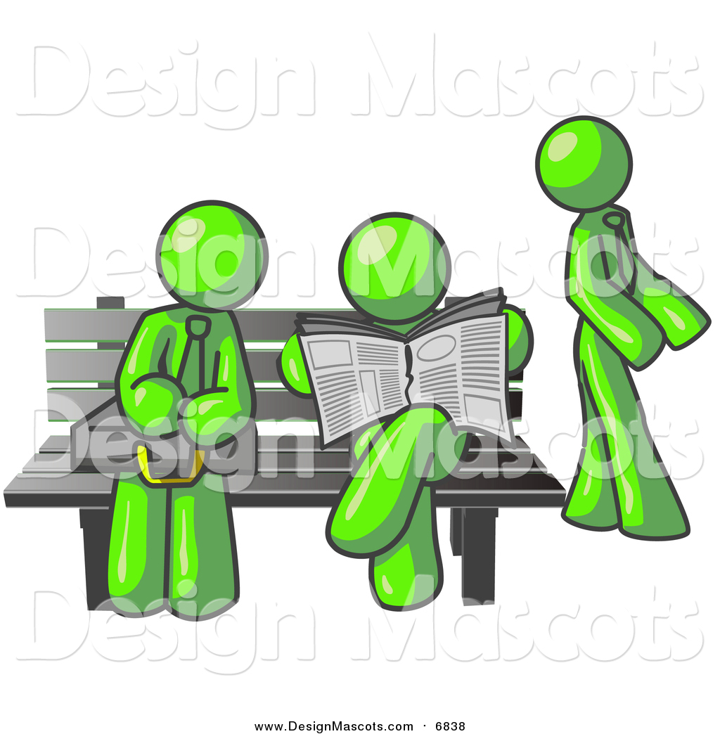 Bench clipart bus stop bench Lime a by Bench of