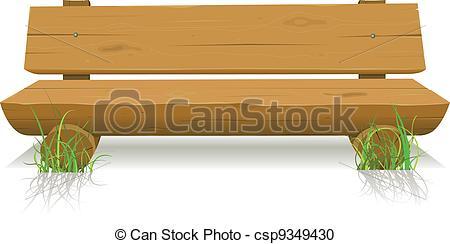 Bench clipart cartoon Wood Bench seat 11 wooden