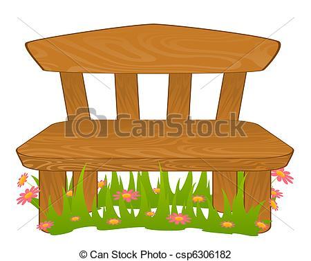 Bench clipart cartoon Bench bench bench of Cartoon