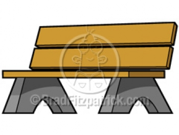 Park Bence clipart school bench #9