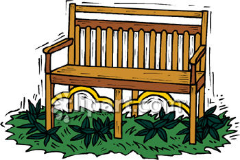 Wood clipart garden chair Free  Download Garden Art