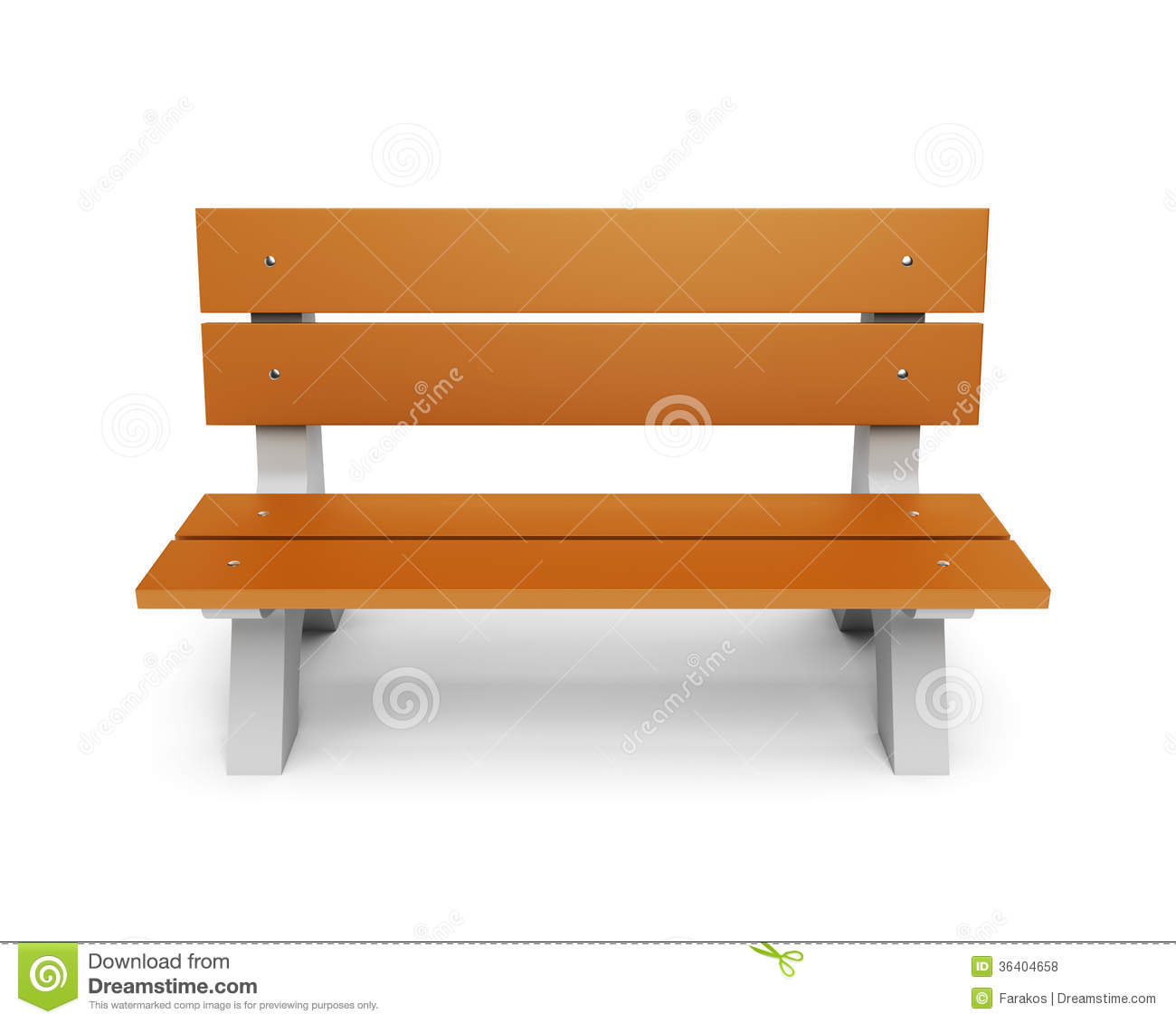 Wood clipart park bench #1