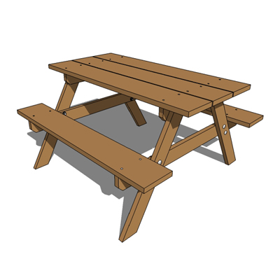 Picnic Table clipart wood table Clipart woodworkingmunity free table table