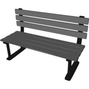 Park Bence clipart school bench #5