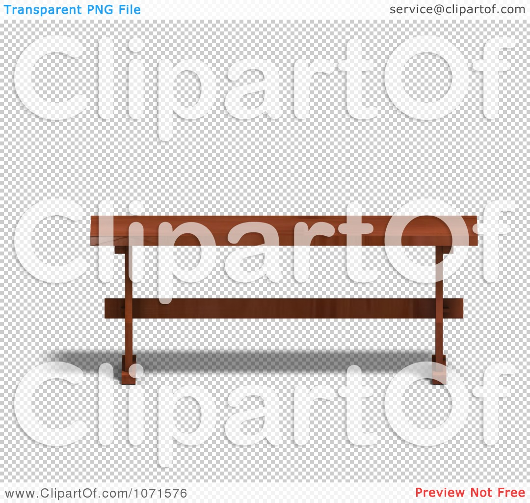 Bench clipart transparent Bench Wooden transparent 3d Bench