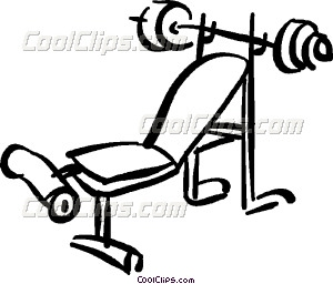 Bench clipart weight lifting Lifting weight weight lifting bench