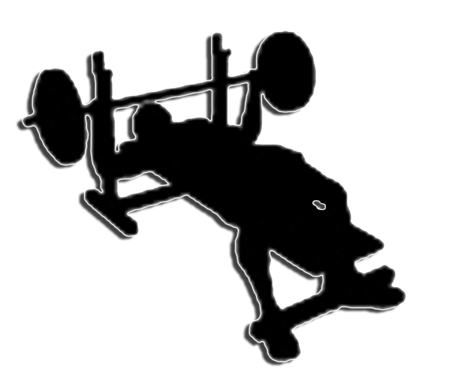 Bench clipart weight lifting Workout  Get Ripped Piktochart