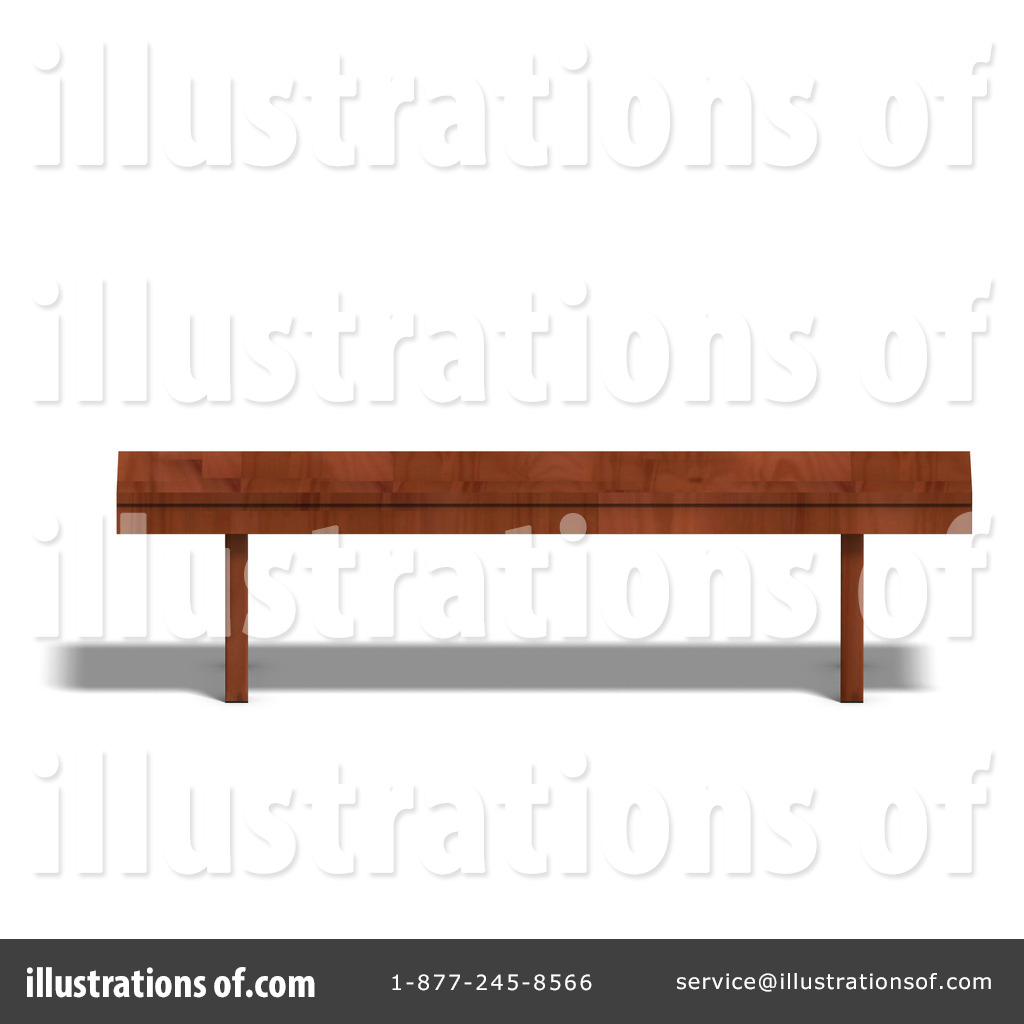 Bench clipart wooden bench #1071578 #1071578 Illustration (RF) Ralf61