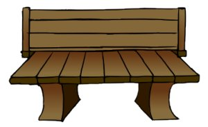 Bench clipart wooden bench Clipart Bench Wooden Bench Download