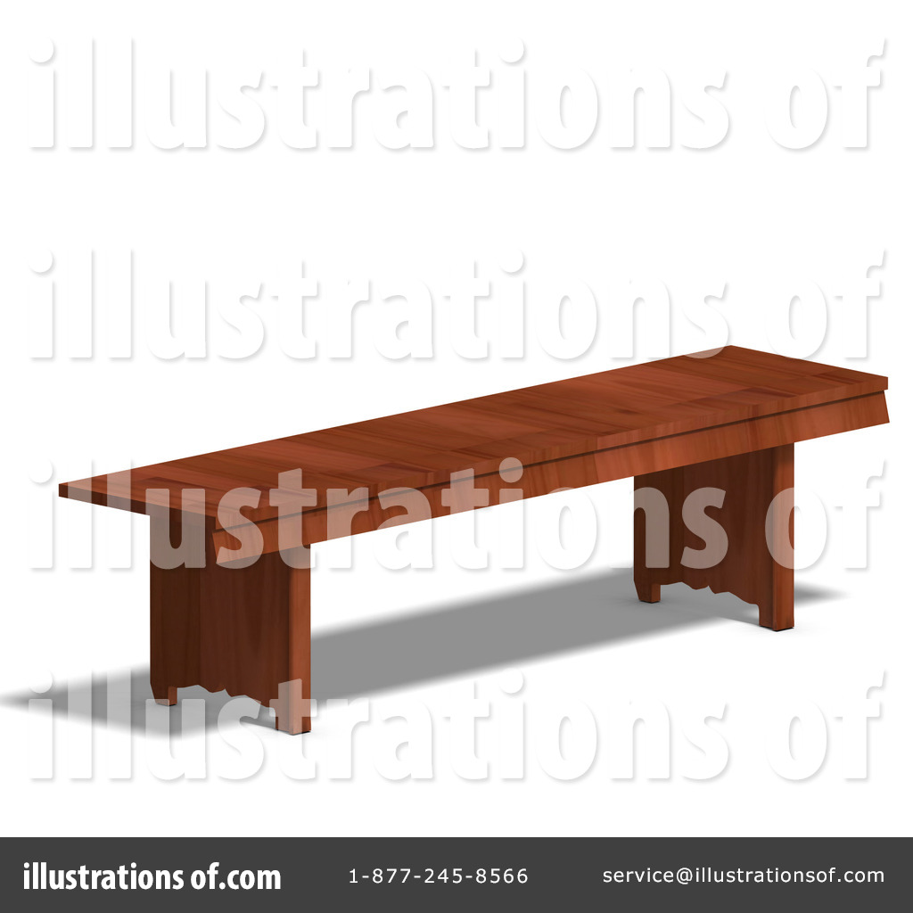 Bench clipart wooden bench #1071579 #1071579 Illustration (RF) Ralf61