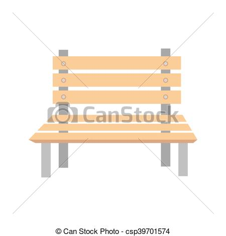 Bench clipart wooden chair Vectors bench Illustration chair