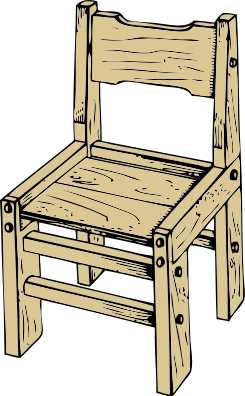 Bench clipart wooden chair Wooden chair householdfurniturechairwoodenchair2pnghtml 2 chair