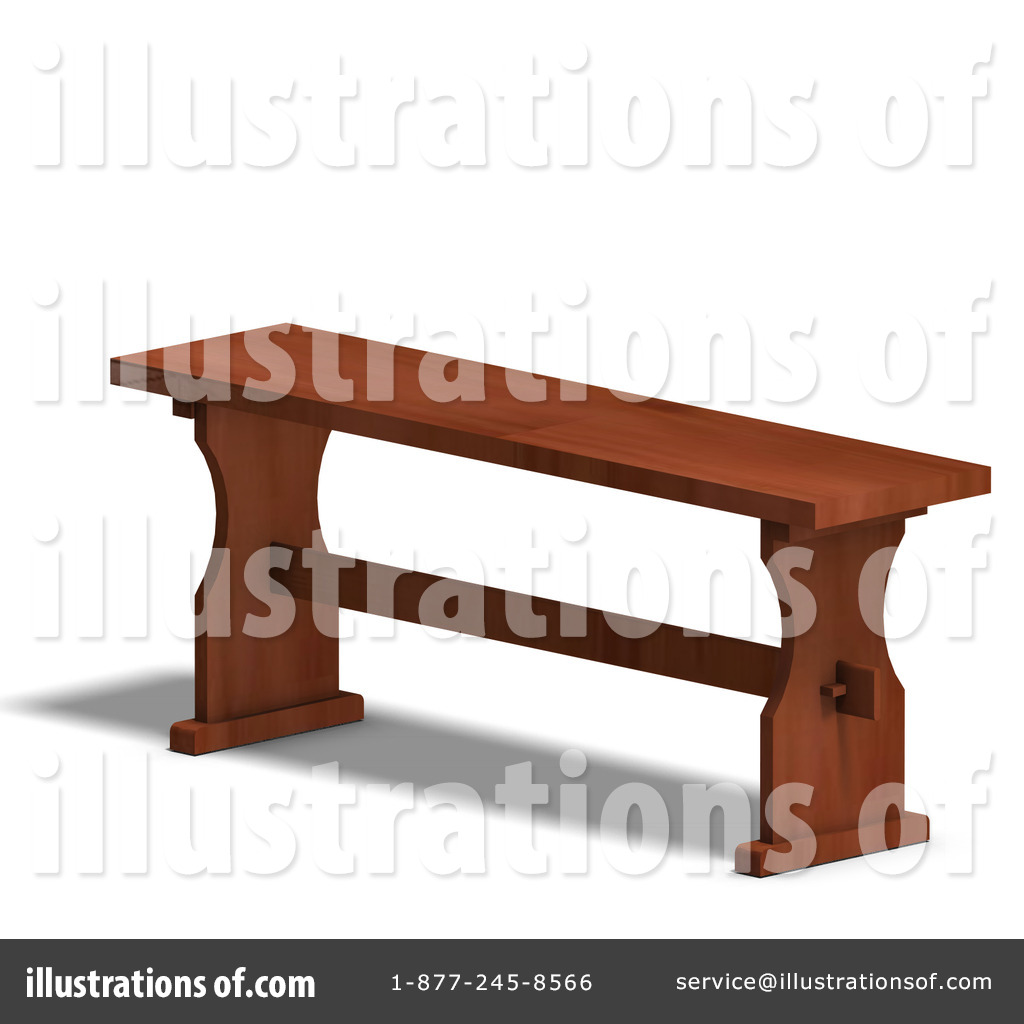 Bench clipart woodwork Illustration Bench by Ralf61 Clipart