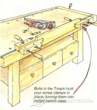 Bench clipart woodwork Best Workshop Clamp and on