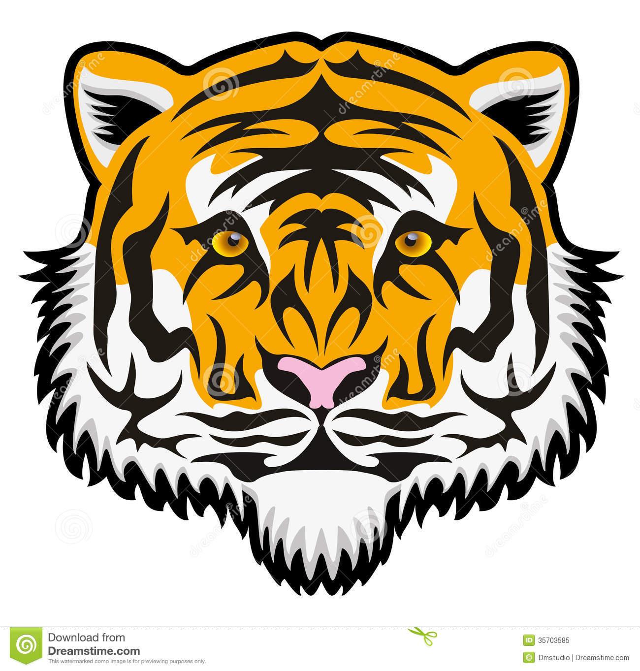 Bengal clipart tiger logo Tiger Clipart Face Bengal