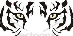 Bengal clipart tiger logo Clipart Panda Eyes Art Clipart