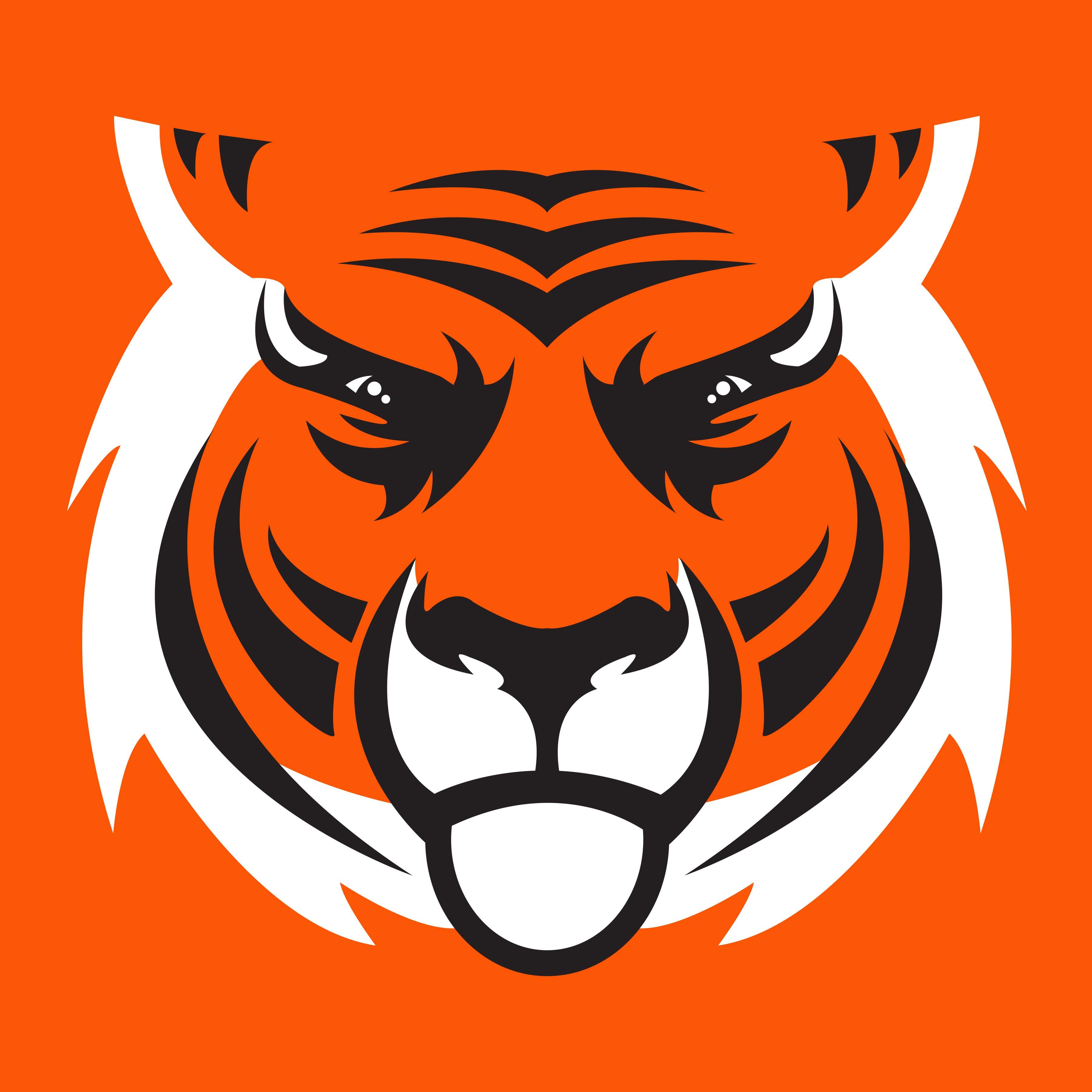 Bengal clipart Clip art Face Tiger Art