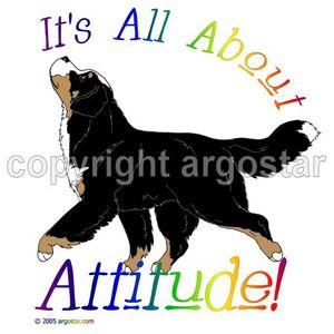 Bernese Mountain Dog clipart Dog Mountain Bernese Attitude clip