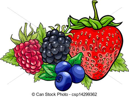 Berry clipart 46 cartoon  Clip EPS